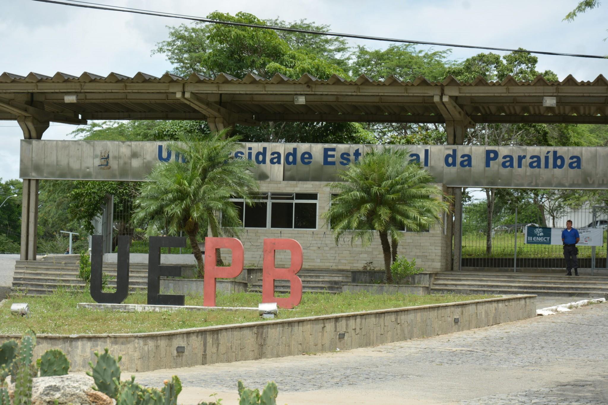 Universidade Estadual da Paraíba (Foto: Acervo/Jornal Correio da Paraíba)